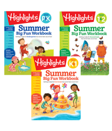 Summer Big Fun Workbooks